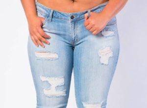 Perfekte jeans til plus size